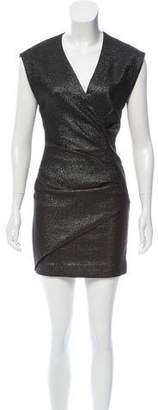 IRO Dresdi Metallic Dress