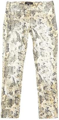 Isabel Marant Yellow Velvet Trousers