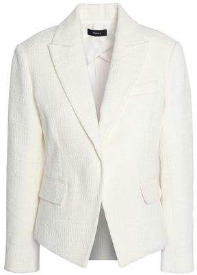 Theory Brince Newdale Bonde Textured Cotton-Blend Blazer