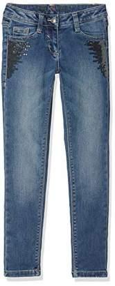 S'Oliver Girl's 66.811.71.3258 Jeans, (Blue Denim Stretch 56z4)