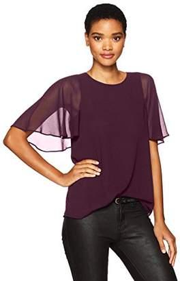 Calvin Klein Women's Tunic with Short Sleeve Flutter