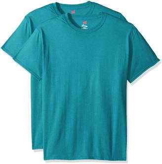 Hanes Men's Short Sleeve X-Temp W/FreshIQ T-Shirt 2-Pack