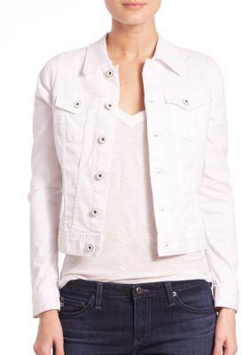 AG Robyn Denim Jacket $198 thestylecure.com