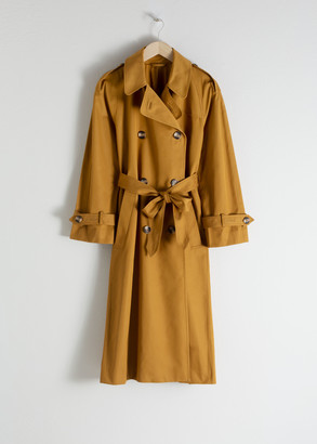 And other stories Belted Trench Coat