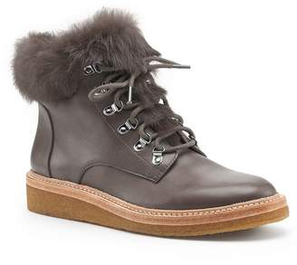 Botkier Winter Genuine Rabbit Fur Trim Boot