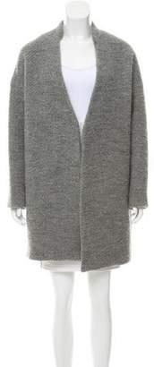 Nili Lotan Open-Front Cocoon Coat