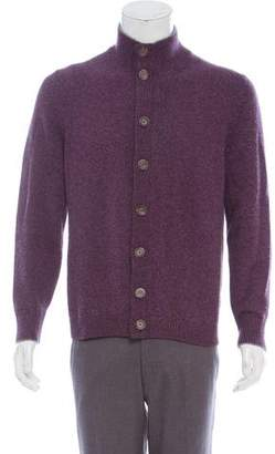 Brunello Cucinelli Cashmere Button-Up Cardigan