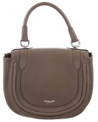 a3903041fca9 Michael Kors Brown Leather Crossbody Handbags - ShopStyle