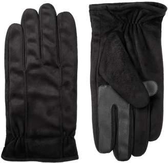 Isotoner Men's smartDRI Microfiber Gloves