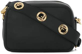 Fendi logo strap crossbody bag