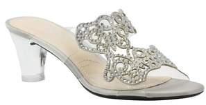 J. Renee Sabreen Crystal Embellished Sandal