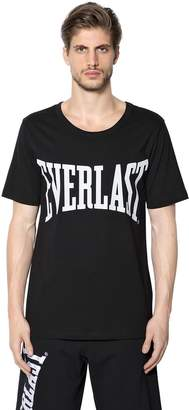 Ports 1961 Everlast Cotton Printed Logo T-Shirt