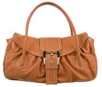 CelineCéline Leather Handle Bag