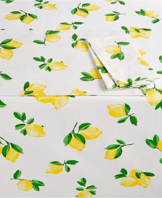 Kate Spade Make Lemonade Table Linens Collection