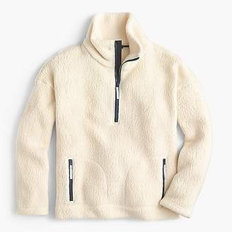 J.Crew Polartec® fleece half-zip pullover jacket