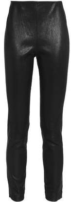 Rag & Bone Leather Tapered Pants