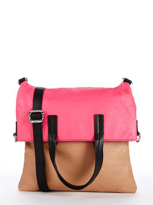 Runway Geometry Colorblock Shopper