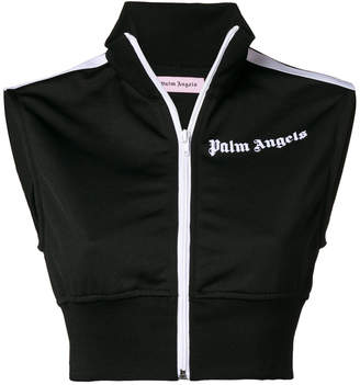 Palm Angels sleeveless cropped top