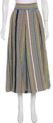 Rosie Assoulin Houndstooth Midi Skirt w/ Tags