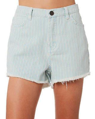 Billabong Girls Kids Girls Seven Seas Short Cotton Fitted Blue