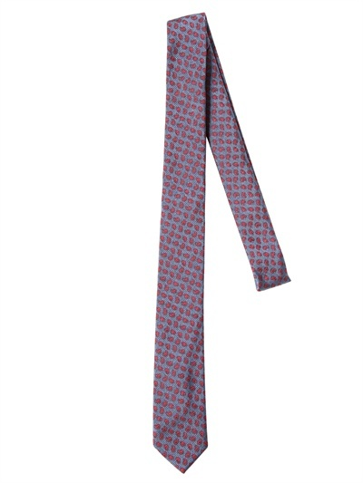 Band Of Outsiders 5cm Silk Jacquard Tie