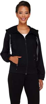 Cee Bee Cheryl Burke cee bee CHERYL BURKE Water Resistant Zip Up Jacket