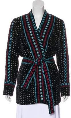 Dodo Bar Or Velvet Short Coat