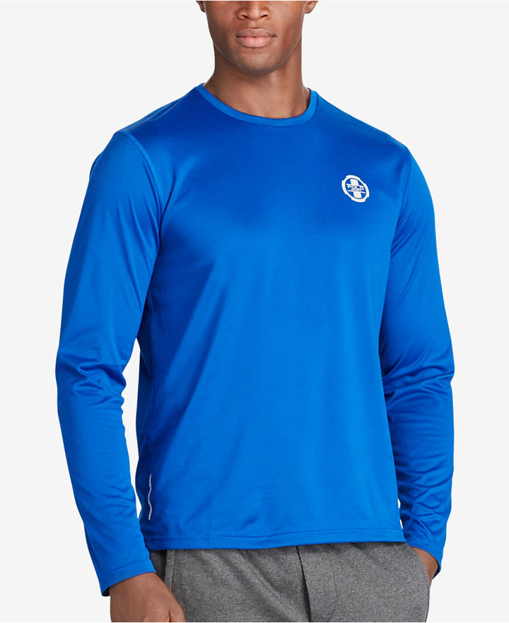 Polo Sport Men's Performance Long-Sleeve Jersey T-Shirt