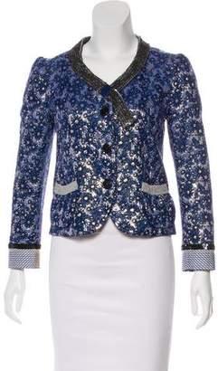 Marc Jacobs Embellished Long Sleeve Jacket