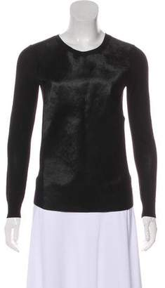 Ted Baker Ponyhair Long Sleeve Sweater