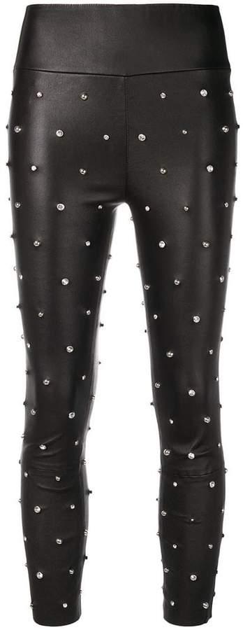 Sprwmn embellished leggings