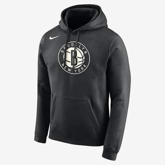 Nike Brooklyn Nets Men's Logo NBA Hoodie