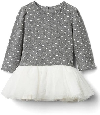 Heart jacquard tutu dress $39.95 thestylecure.com