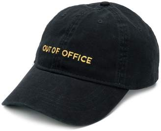 Wood Wood Out of Office embroidered cap
