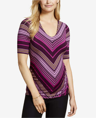 Jessica Simpson Maternity Ruched T-Shirt