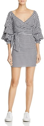 Do and Be Gingham Wrap Dress - 100% Exclusive $88 thestylecure.com