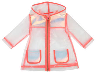 Billieblush Transparent Hooded Raincoat, Size 12M-3
