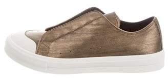 Alexander McQueen Bost Metallic Sneakers w/ Tags
