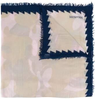 Zadig & Voltaire frayed hem scarf
