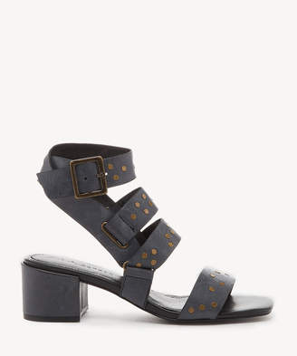 cebbd74402 Kelsi Dagger Brooklyn Women's Seabring Mid Heels Gladiators Sandals Black  Size 6 Leather From Sole Society