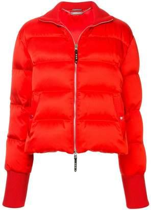 Alexander McQueen puffed bomber jacket