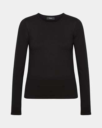 Theory Wool Slim-Fit Crewneck Sweater