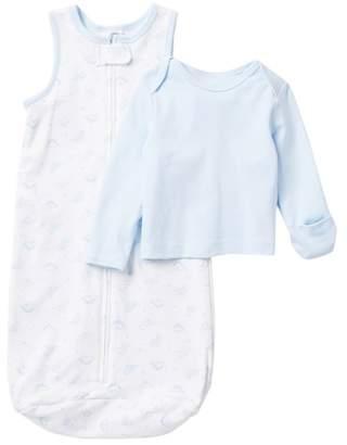Little Me Dino Top & Sleep Sack Set (Baby Boys)