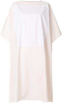 MM6 MAISON MARGIELA patch detail shift dress