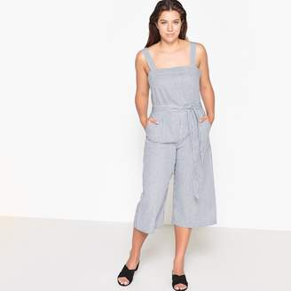 3092483f4e CASTALUNA PLUS SIZE Striped Cropped Jumpsuit