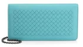 Bottega Veneta Leather Chain Wallet