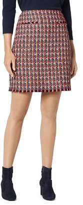 LK Bennett L.K.Bennett Danna Checked Skirt