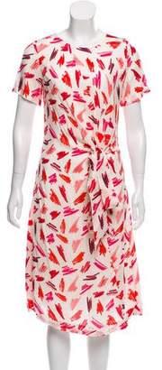 Rachel Antonoff Printed Midi Dress