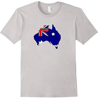 Australian National Flag Australia Silhouette T-Shirt