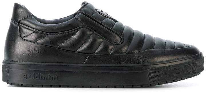 Baldinini quilted slip-on sneakers